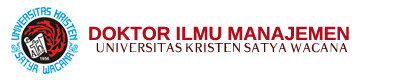 Doktor Ilmu Manajemen – Universitas Kristen Satya Wacana